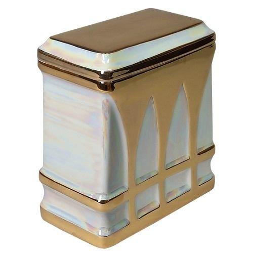 Chateau Porcelain Cremation Urn