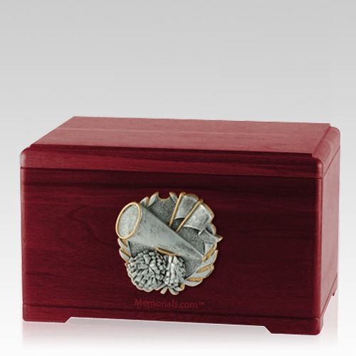 Cheerleading Rosewood Cremation Urn