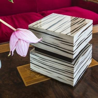 Chic Wood Cremation Urn