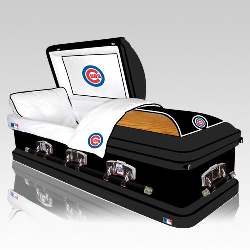 Chicago Cubs Casket