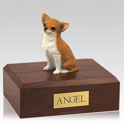 Chihuahua Fawn Dog Urns