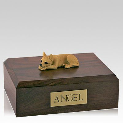 Chihuahua Tan Dog Urns