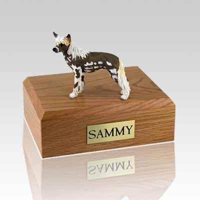 Chinese Crested Dog Urns