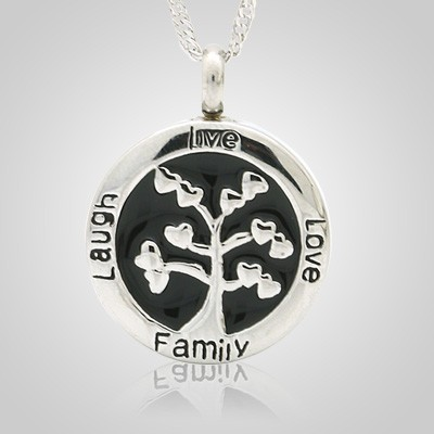 Circle of Life Cremation Necklace