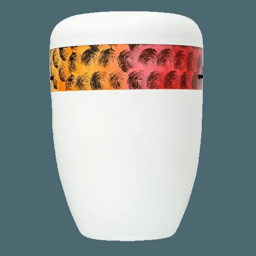 Cirquel Orange Biodegradable Urn