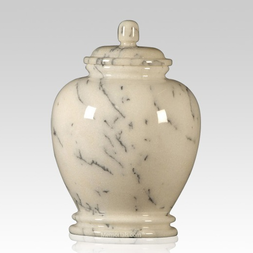 Classic Ivory Child Cremation Urn