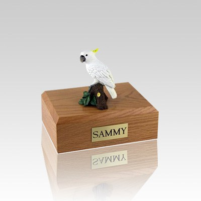 Cockatoo Parrot Small Bird Cremation Urn