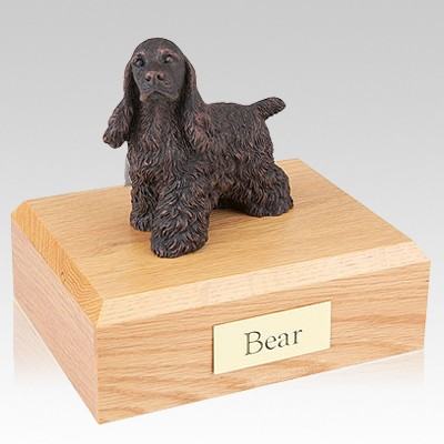 Cocker Spaniel Bronze Dog Urns