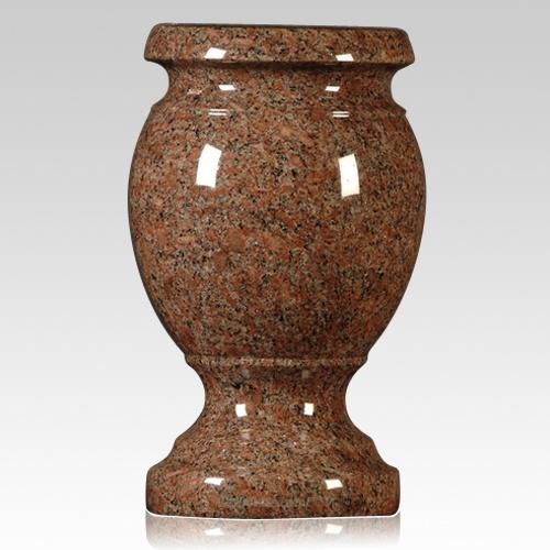 Colorado Red Granite Vase