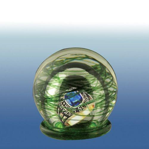 Colorburst Infinity Glass Keepsake