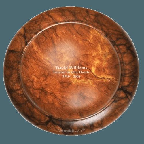 Complex Stone Cremation Urn
