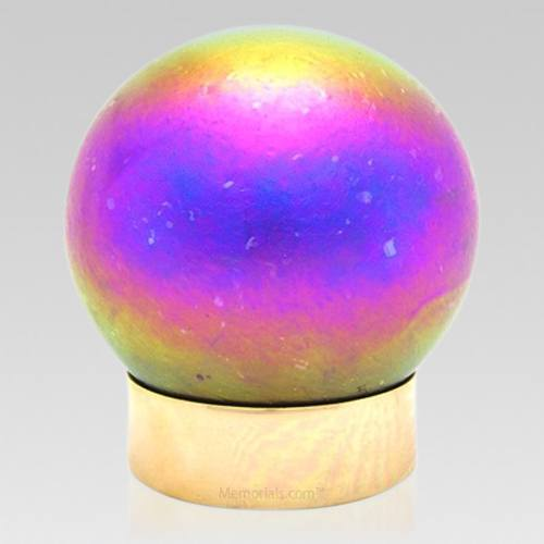 Cosmic Glass Child Cremation Urn