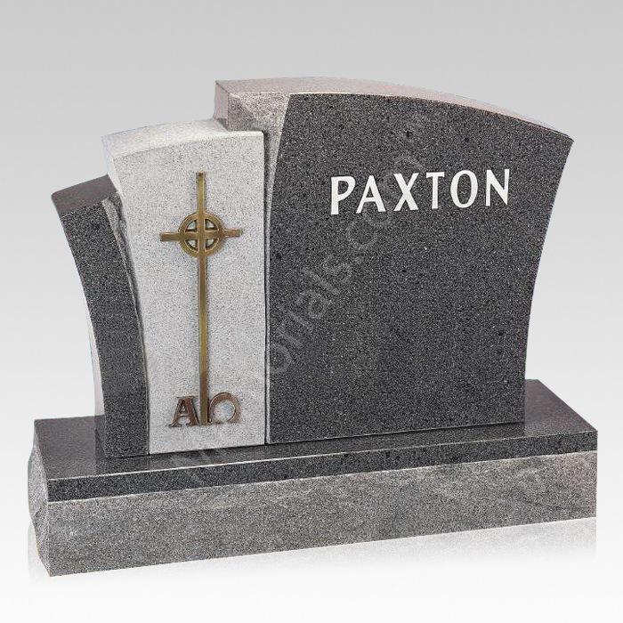 Cosmo Upright Cemetery Headstone