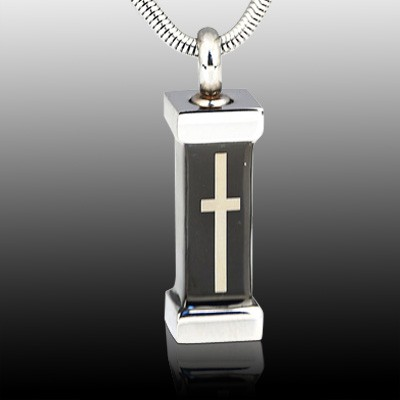 Cremation Cross Necklace
