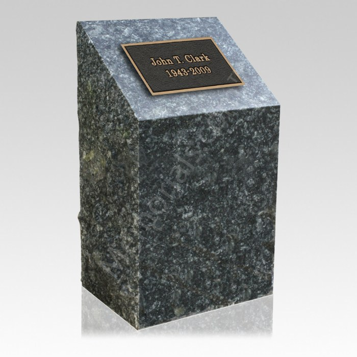 Cremation Memorial Grave Stone