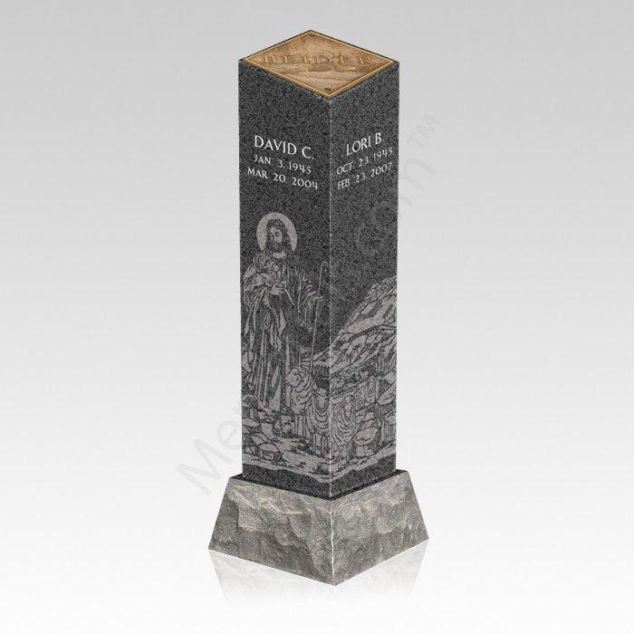 Good Shepherd Cremation Pillar