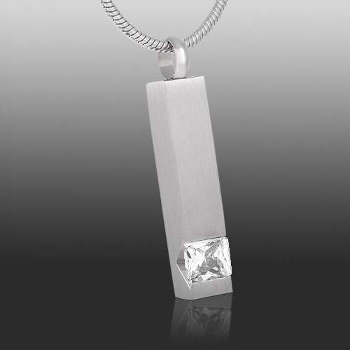 Crystal Pet Cremation Pendant