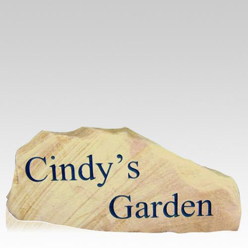 Customized Tennessee Small Memorial Rock
