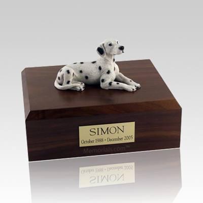 Dalmatian Resting Dog Urns