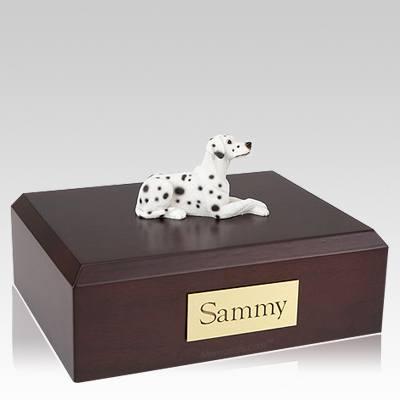 Dalmatian Settled Dog Urns
