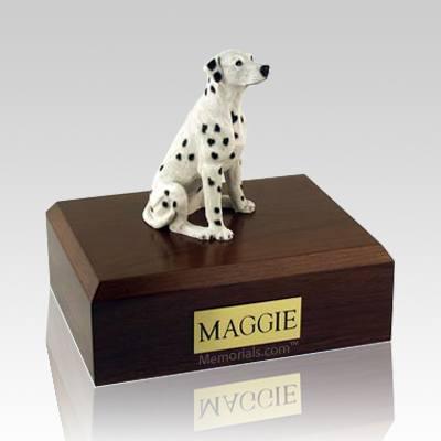 Dalmatian Sitting Dog Urns
