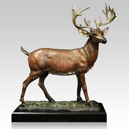 Deer Cremation Urn