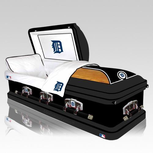 Detroit Tigers Casket