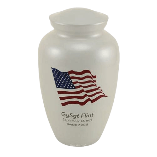 Dignity Flag Cremation Urns