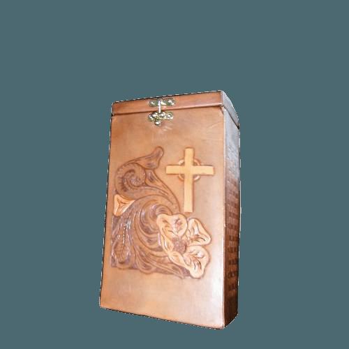Dignity Leather Medium Urn