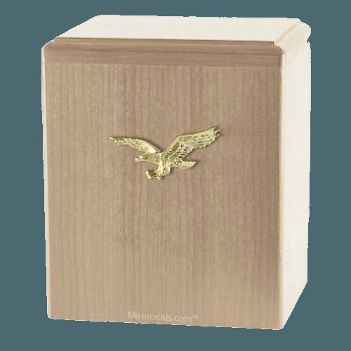 Eagle Ascent Maple Cremation Urn