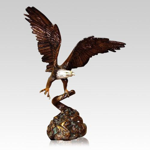 Eagle Flight Keepsake Cremation Urn