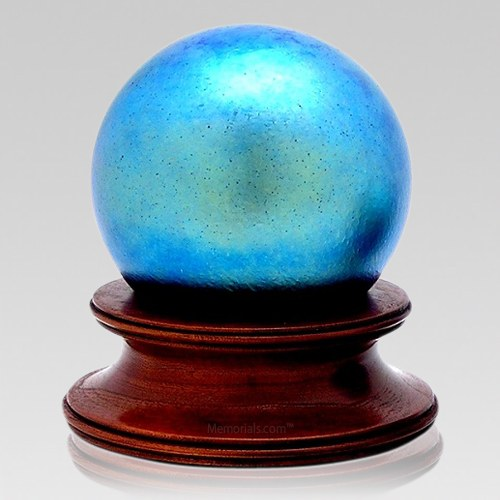 Earth Glass Child Cremation Urn