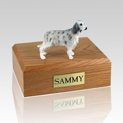 English Setter Blue Belton Dog Urns