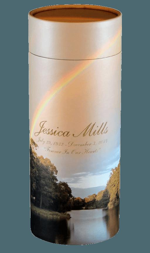 Burgundy Scattering XL Biodegradable Urn