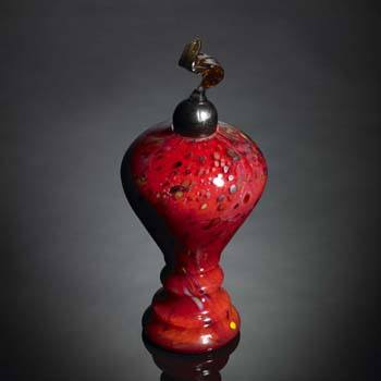 Eternal Flame Red Pet Urn