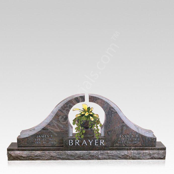 Eternal Ring Grave Headstone