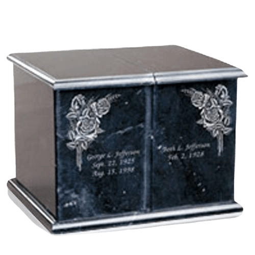 Evermore Black Companion Cremation Urn