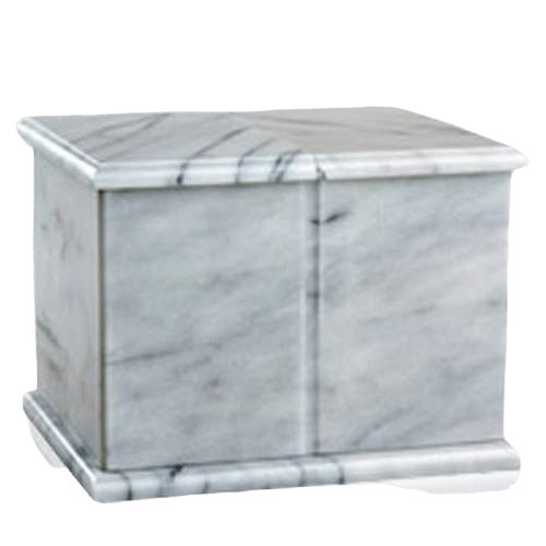 Evermore White Companion Cremation Urn