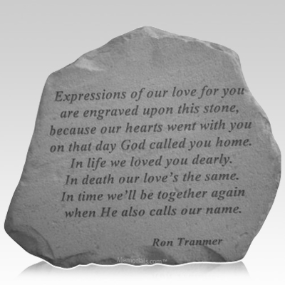 Expressions of Love Remembrance Stone