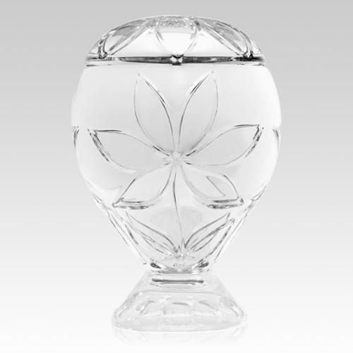 Exquisite Glass Cremation Urn