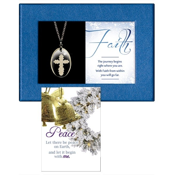 Faith Gift Boxed Pendant
