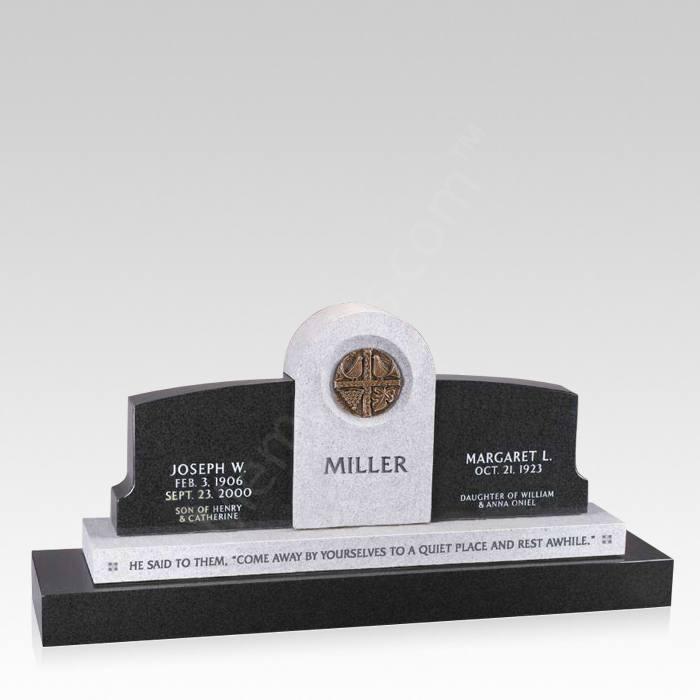 Fellowship Upright Cemetery Headstone