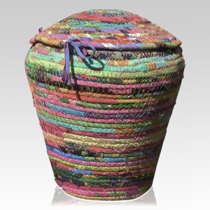 Fiesta Cotton Cremation Urn