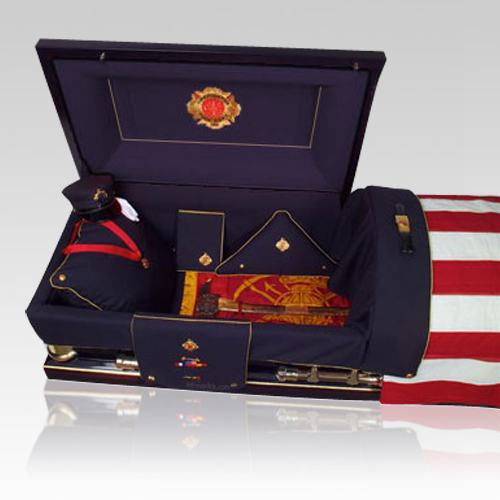 Firefighter Burial Casket