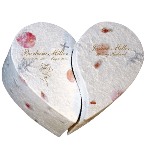 Floral Companion Biodegradable Cremation Urn