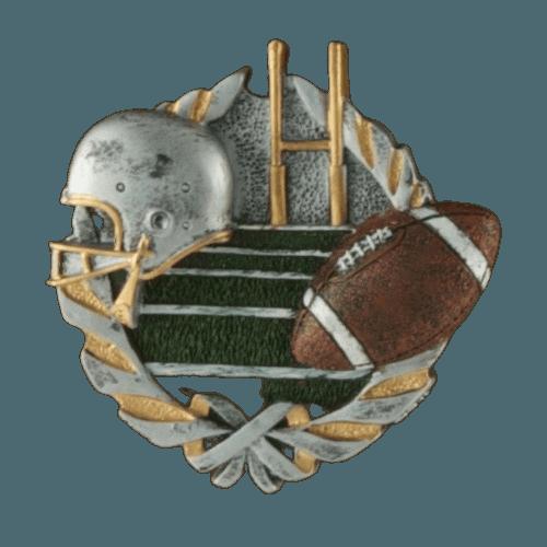 Foot Ball Oak Cremation Urn