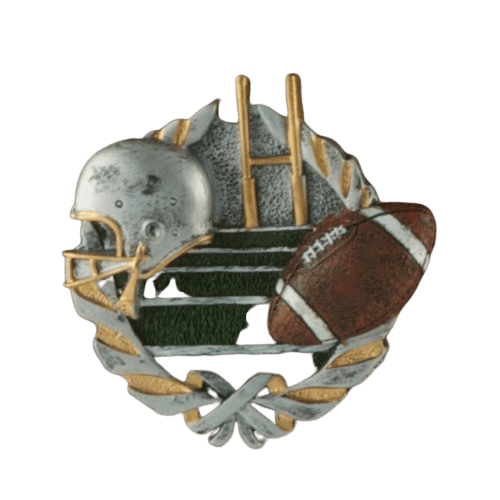 Football Fan Walnut Cremation Urn