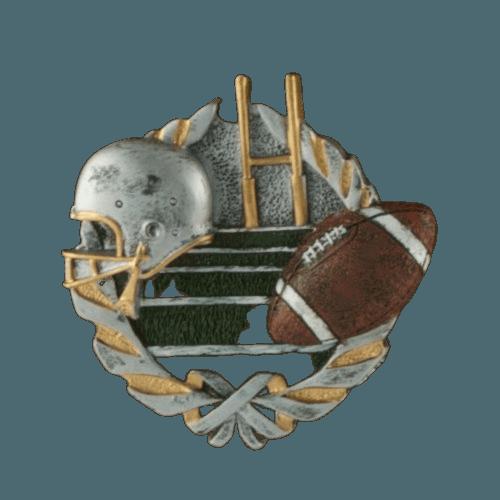 Football Fan Light Cherry Cremation Urn