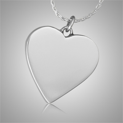 Slider Heart Pet Cremation Jewelry