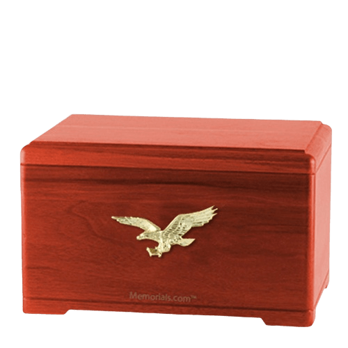 Freedom Cherry Cremation Urn